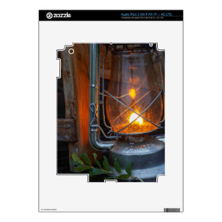 Lantern At Plains Camp, Kruger National Park Decals For iPad 3