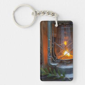 Lantern At Plains Camp, Kruger National Park Keychain