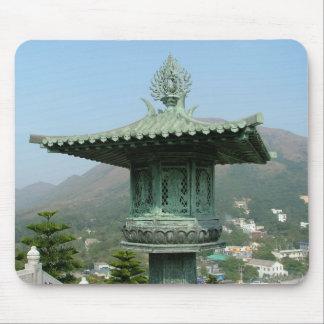 Lantern at Tian Tan Buddha Mouse Pad