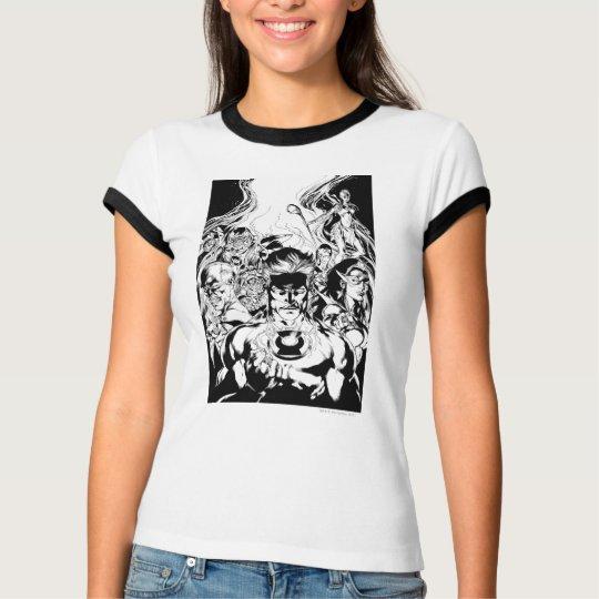 Lantern Corps Group Shot T-Shirt