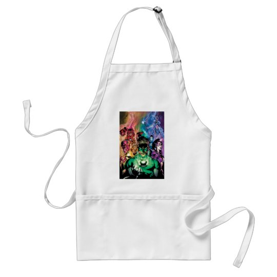 Lantern Corps Group with Colors Adult Apron