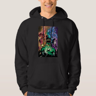 Lantern Corps Group with Colors Hoodie