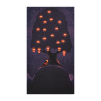 "Lantern Festival Art Extra Large ""Light my world"" Canvas Prints"