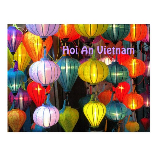 Lantern Festival Hoi An Vietnam Post Cards