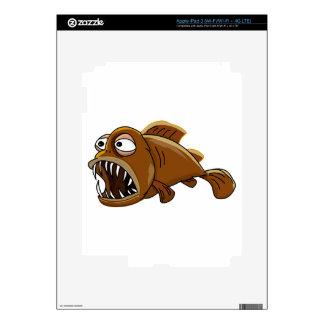 Lantern-fish-1 Decals For iPad 3
