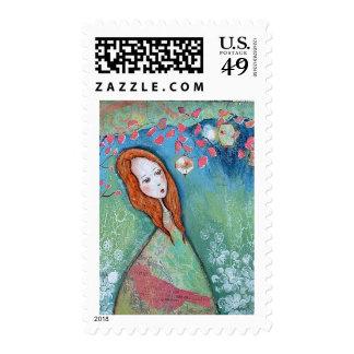 lantern garden postage