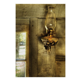 Lantern - Keroscene Lamp Print