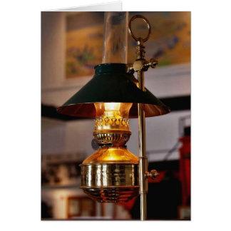 Lantern Lamp Fire Card