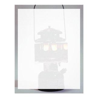Lantern lamp for home use letterhead design