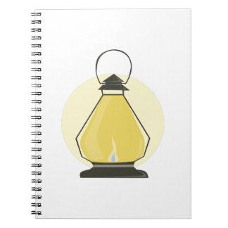 Lantern Spiral Note Books