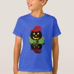 lantern pumpkin t-shirt .