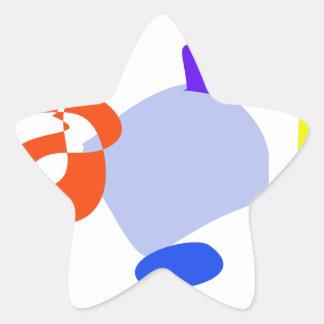 Lantern Star Stickers
