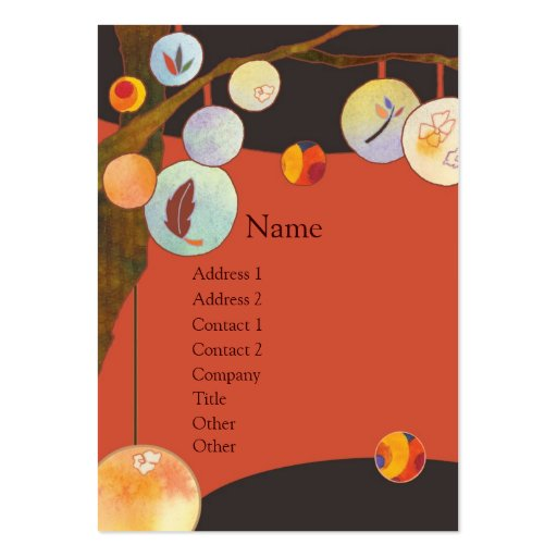Lantern Tree Business Cards