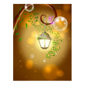 Lantern & Vines Postcards
