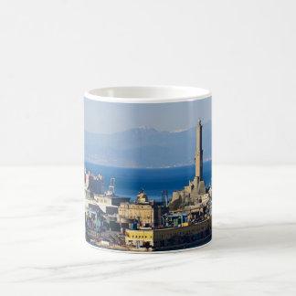 Lanterna - Lighthouse in Genova Coffee Mug