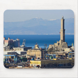 Lanterna - Lighthouse in Genova Mouse Pad