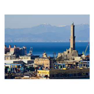 Lanterna - Lighthouse in Genova Postcard