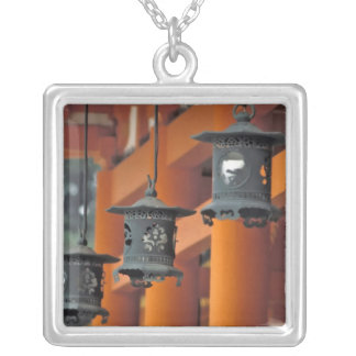 Lanterns hanging from the Heian-jingu Shrine Custom Necklace