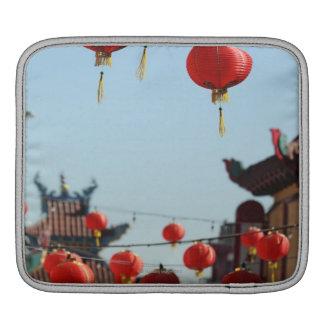 Lanterns in Chinatown iPad Sleeves