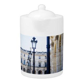 Lanterns, Lamp Posts in Paris, France Teapot