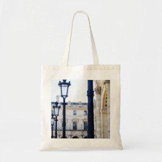 Lanterns, Lamp Posts in Paris, France Tote Bag
