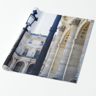 Lanterns, Lamp Posts in Paris, France Wrapping Paper