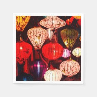 Lanterns Paper Napkin