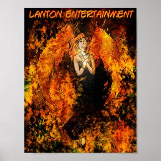 Lanton Entertainment Phoenix Girl Ellie poster