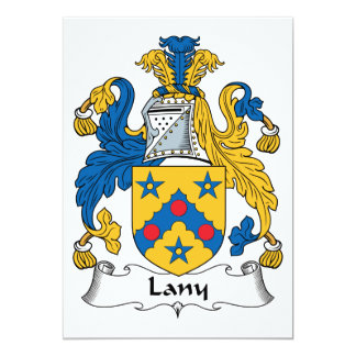 Lany Family Crest Card