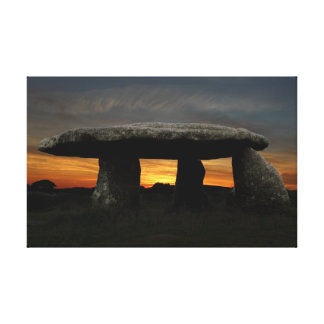 Lanyon Quoit, Cornwall, England Canvas Print