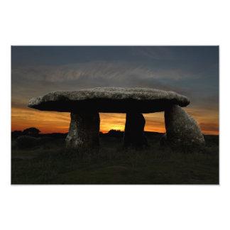 Lanyon Quoit, Cornwall, England Photo Print
