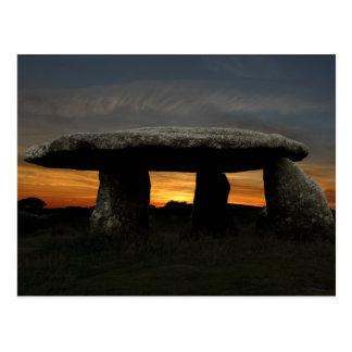 Lanyon Quoit, Cornwall, England Postcard