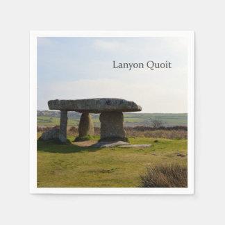 Lanyon Quoit Standing Stones Cornwall England Napkin