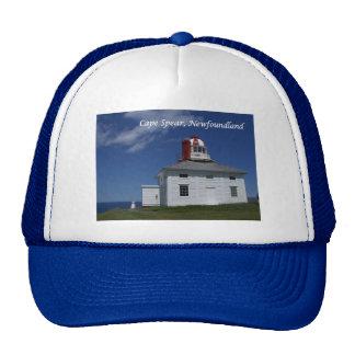 Lanza del cabo, Terranova, gorra