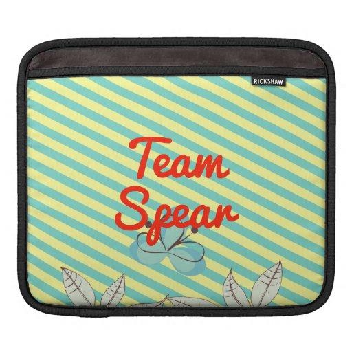 Lanza del equipo mangas de iPad