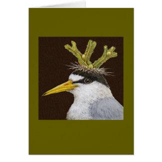 Lanza la menos tarjeta de la golondrina de mar