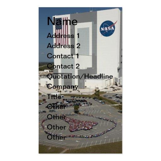 Lanzadera del ser humano de NASAs Tarjeta Personal