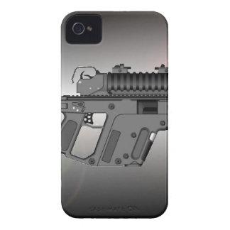Lanzagranadas en un Kriss V estupendo iPhone 4 Case-Mate Cárcasa