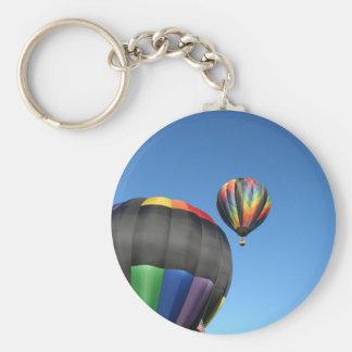 ¡Lanzamiento colorido de los globos! Llavero