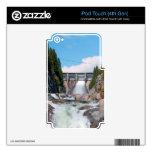 Lanzamiento de agua de la presa calcomanías para iPod touch 4G