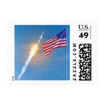 Lanzamiento de Apolo 11 Estampillas