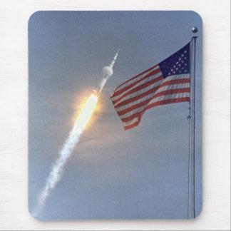 Lanzamiento de Apolo 11 Alfombrilla De Ratón