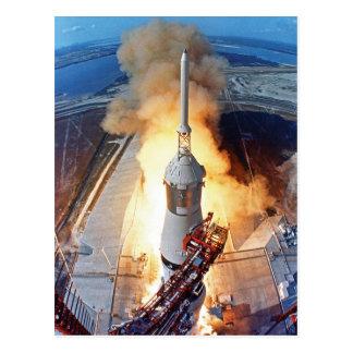 Lanzamiento de Apolo 11 Postal