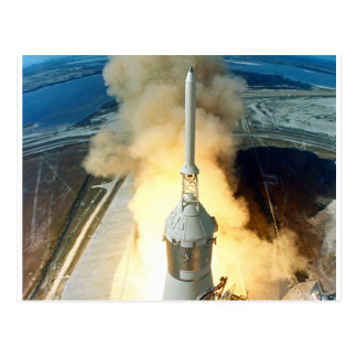 Lanzamiento de Apolo 11 Tarjeta Postal
