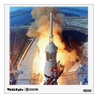 Lanzamiento de Apolo 11 Vinilo Adhesivo