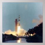 Lanzamiento de Apolo 13 Poster