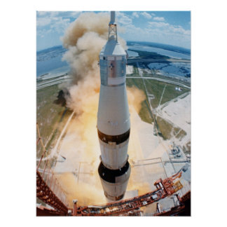 Lanzamiento de Apolo 16 Impresiones