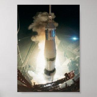 Lanzamiento de Apolo 17 Impresiones