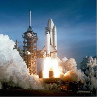Lanzamiento de Columbia del transbordador espacial Fotoescultura Vertical