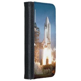 Lanzamiento de Columbia del transbordador espacial Funda Cartera Para iPhone 6